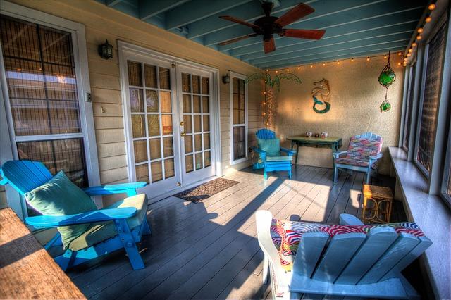 obytná veranda