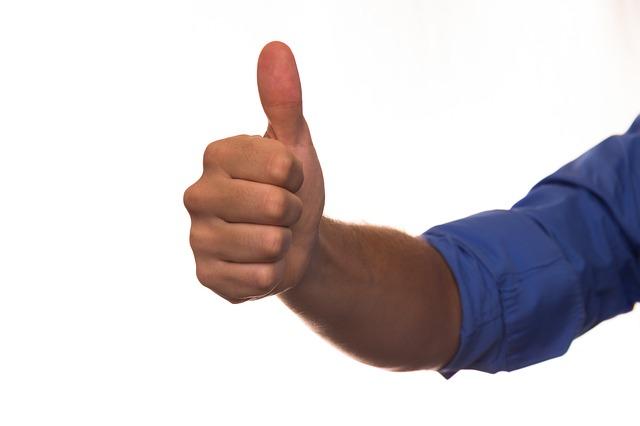 modrý rukáv