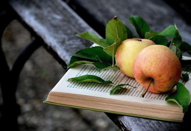 jablka na knize