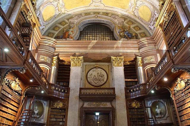 Knihovna – obřadní síň